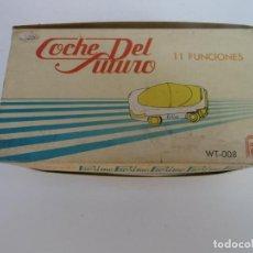 Escribanía: COCHE DEL FUTURO -11 FUNCIONES - REGLA - TIJERA - GRAPAS - CLIPS - ECT - PROXIMO - SIN USAR. Lote 194666820
