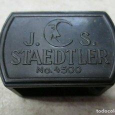 Escribanía: SACAPUNTAS*J.S.STAEDTER-Nº4500*DE BAKELITA/BAQUELITA.PRECIOSOS DIBUJOS.EXCELENTE ESTADO.MUY DIFÍCIL.. Lote 194887468