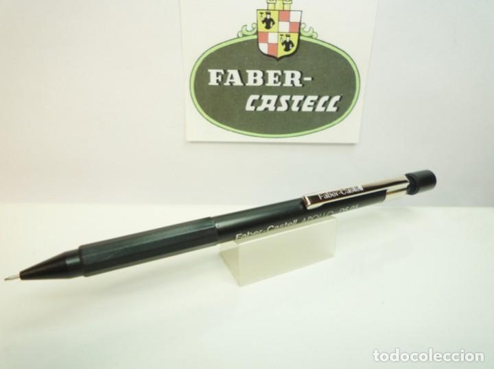 Escribanía: FABER CASTELL ANTIGUO LAPIZ PORTAMINAS APOLLO DS 0,5. GERMANY 80S. - Foto 3 - 194897127