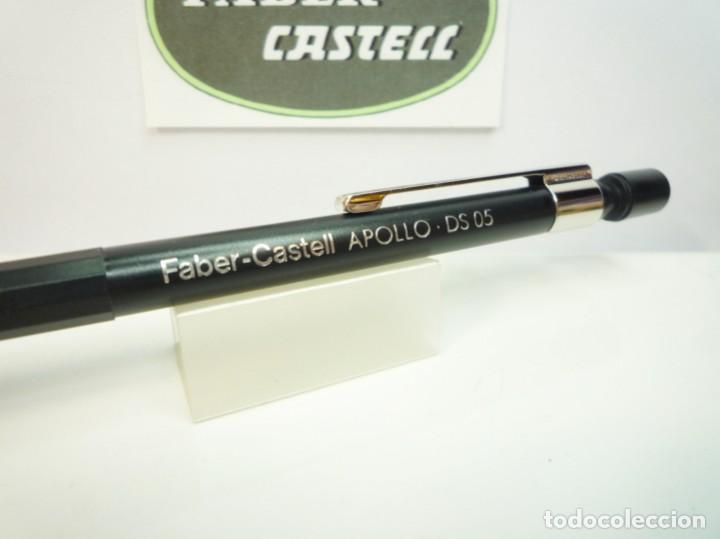 Escribanía: FABER CASTELL ANTIGUO LAPIZ PORTAMINAS APOLLO DS 0,5. GERMANY 80S. - Foto 4 - 194897127