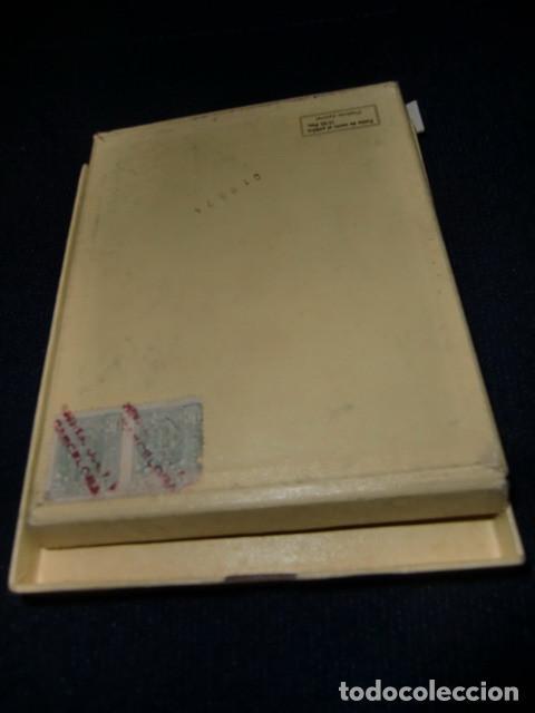 Escribanía: Caja lápices de cera marca Metalín, años 40 Lápices superfinos Patentados. Industrial PS LACO - Foto 3 - 194993467