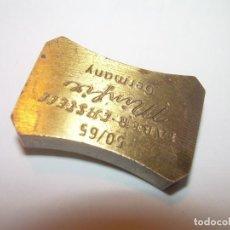 Escribanía: ANTIGUO SACAPUNTAS AFILALAPICES..DE BRONCE....FABER CASTELL...GERMANY... Lote 195183001