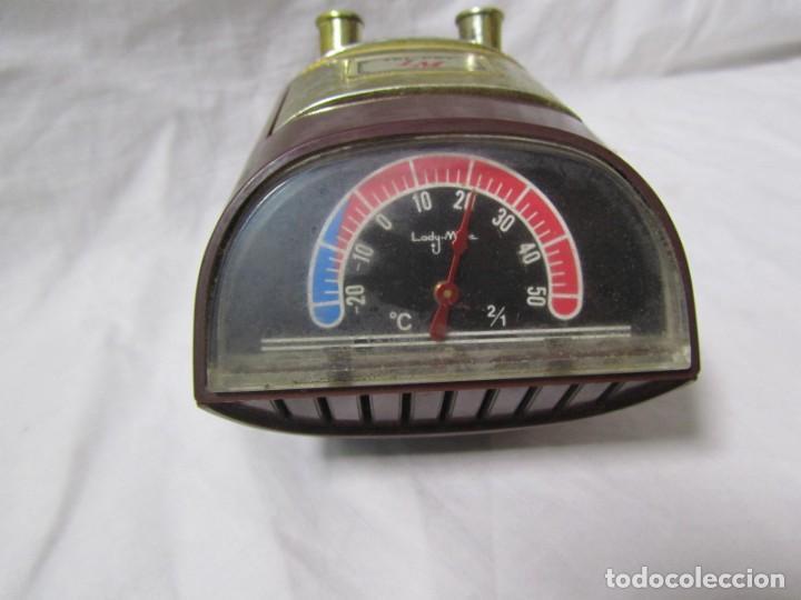 Escribanía: Soporte para boligrafos o plumas musica y termómetro Lady Mate Japón - Foto 3 - 195333572