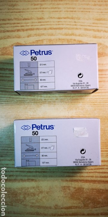 Escribanía: Perforadora de papel Petrus 50 de metal a estrenar - Foto 4 - 195337915