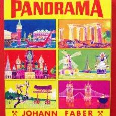 Escribanía: ESTUCHE DE 24 LAPICES DE COLORES. JOHANN FABER. PANORAMA. CAJA NUEVA. SIN USO.. Lote 197775292