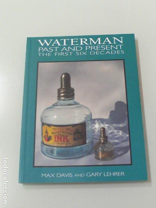 CATÁLOGO TINTEROS TINTA WATERMAN (Plumas Estilográficas, Bolígrafos y Plumillas - Plumillas y Otros Elementos de Escribanía)