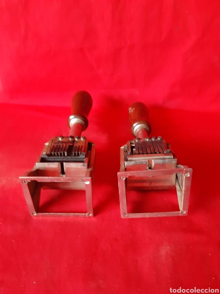 Escribanía: 2 sello selladores tampones de banco marca el casco Eibar - Foto 3 - 200044921