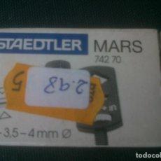Escribanía: ADAPTADOR STAEDTLER 3--3,5---4 MM. SIN USAR. Lote 200755020