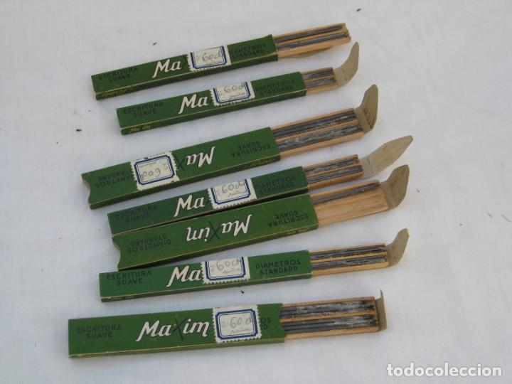 CAJAS DE MINAS MAXIM - 2.00 X 100 Y 1.20 X 100. (Plumas Estilográficas, Bolígrafos y Plumillas - Plumillas y Otros Elementos de Escribanía)