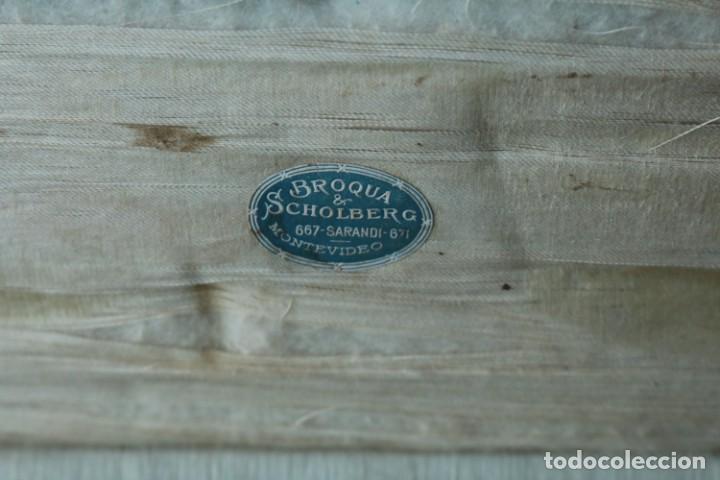 Escribanía: Estuche de escribanía art Nouveau plateada. Art Nouveau box of silver plated pen set. - Foto 7 - 53138397