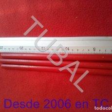 Escribanía: TUBAL 3 ENORMES LAPICES PARA MARCAR CARPINTERIA CJ4. Lote 206270330