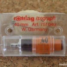 Escribanía: PUNTERA ROTRING ISOGRAPH 0,4MM GERMANY. Lote 206470841