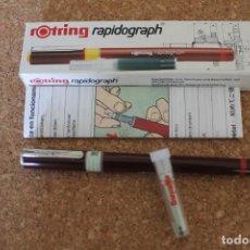 Escribanía: ROTRING RAPIDOGRAPH 0.8MM. Lote 206473131