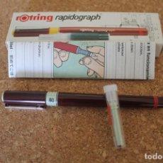 Escribanía: ROTRING RAPIDOGRAPH 0.8MM. Lote 206473220