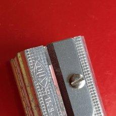 Escribanía: AFILALÁPICES-DOBLE-DUX 1129 NB-ALUMINIO-ALEMANIA-C.1970-NOS-VER FOTOS. Lote 208033001
