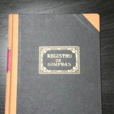 Escribanía: LIBRO REGISTRO DE COMPRAS AÑOS 80 SIN ESTRENAR. Lote 208431592