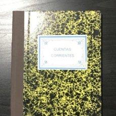 Escribanía: LIBRO CUENTAS CORRIENTES, AÑOS 80. Lote 208432080