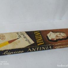Outils d'Écriture: ANTIGUA CAJA CON 12 LAPICES COPIATIVOS ANTINIA, DUROS, Nº 271.. Lote 270375248