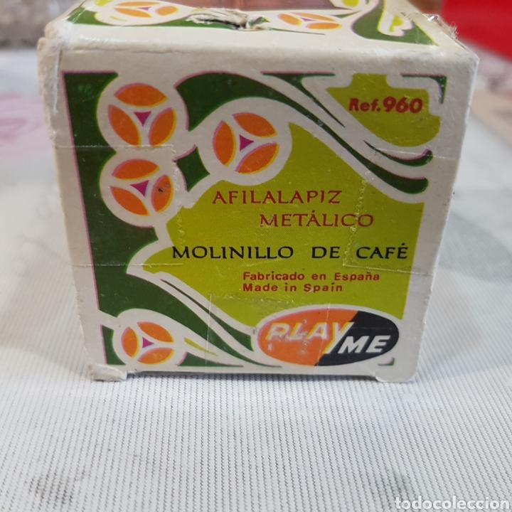 Escribanía: SACAPUNTAS EN FORMA DE MOLINILLO DE CAFÉ PLAYME - Foto 5 - 210832809