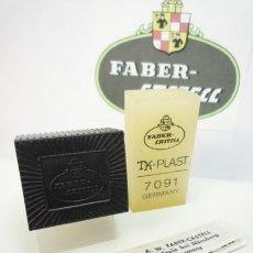 Escribanía: FABER CASTELL, GOMA TECNICA TK-PLAST 7091 PARA GRAFITO Y TINTA CHINA FAJA PLASTICA. ALEMANIA 70'S. Lote 259775975
