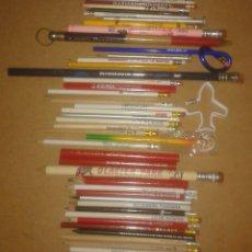 Scrivania: LOTE LAPICES TODOS DIFERENTES CON PUBLICIDAD IDEAL COLECCIONISTAS ALGUNO CON FORMA RARA. Lote 212330862