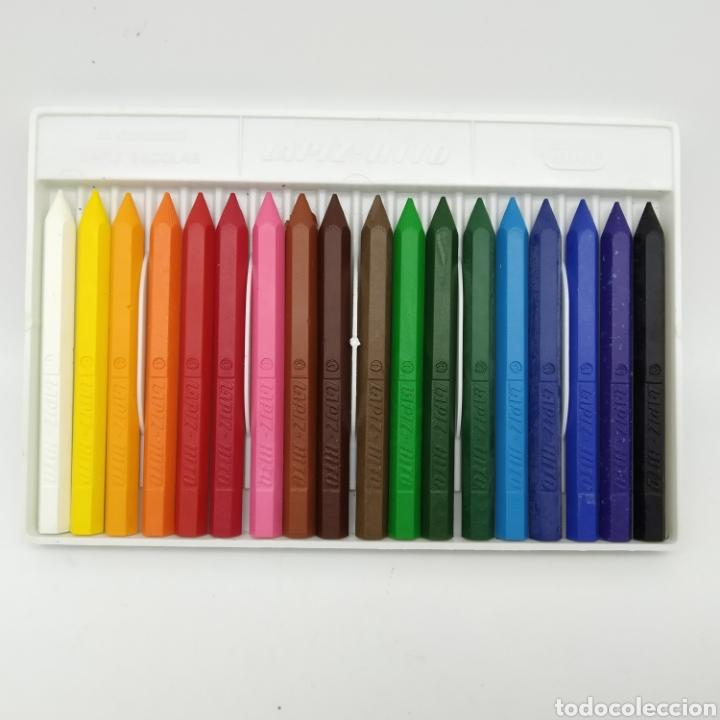Escribanía: Caja de 18 lápices de colores JOVI Lápiz Hito - hecho en España, EGB - Foto 2 - 213076783