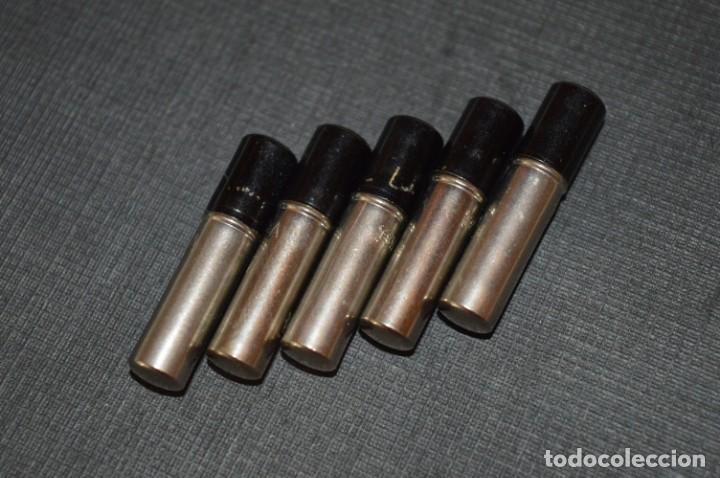 Escribanía: LYRA / 5 Tubos metálicos portaminas, con 12 MINAS de GRAFITO 1,17 Mm. / ALEMANIA Años 30/40 - ¡Mira! - Foto 2 - 214888977