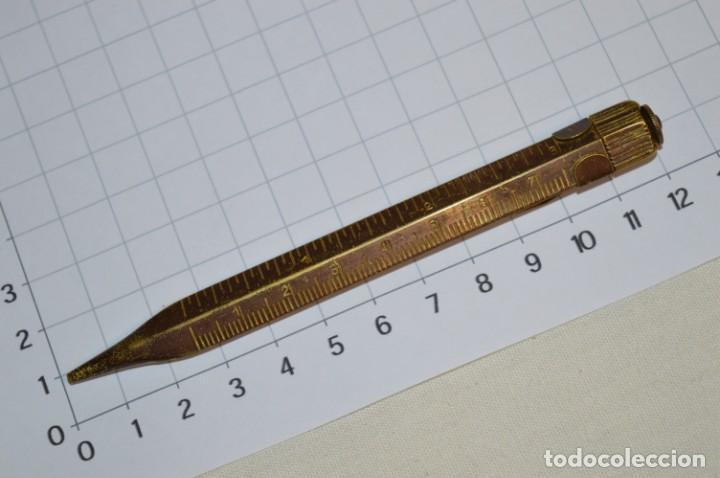 Escribanía: Vintage - Portaminas PEACE / Longitud 12,00 Cm. - ¡Muy antiguo, mira fotos y detalles! - Foto 8 - 215658547
