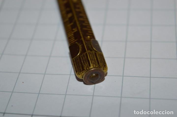 Escribanía: Vintage - Portaminas PEACE / Longitud 12,00 Cm. - ¡Muy antiguo, mira fotos y detalles! - Foto 11 - 215658547