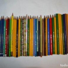 Escribanía: LYRA - GRAN LOTE DE 47 LÁPICES ANTIGUOS, DE MUCHAS CLASE, TIPOS Y MODELOS ¡MIRA FOTOS Y DETALLES!. Lote 217675863