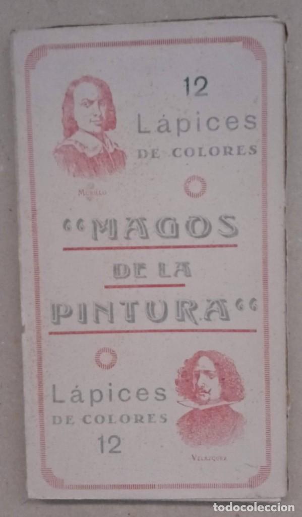CAJA 12 LAPICES COLORES - MAGOS DE LA PINTURA (Plumas Estilográficas, Bolígrafos y Plumillas - Plumillas y Otros Elementos de Escribanía)