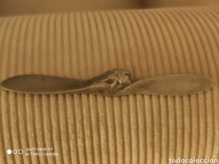 Escribanía: Abrecartas art decó de bronce - Foto 3 - 219014910