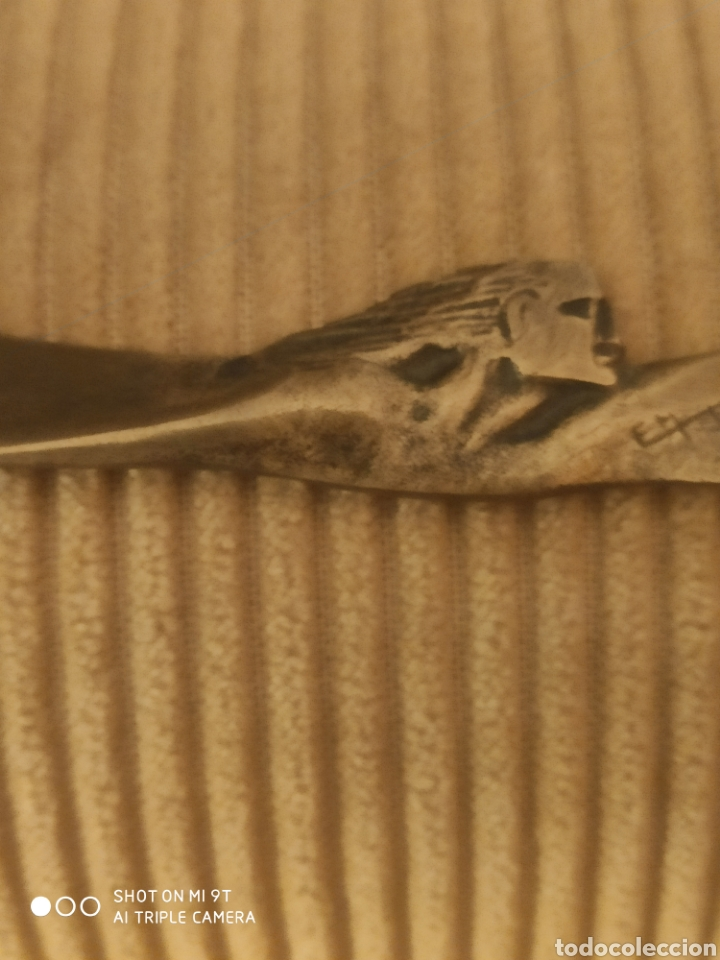 Escribanía: Abrecartas art decó de bronce - Foto 9 - 219014910