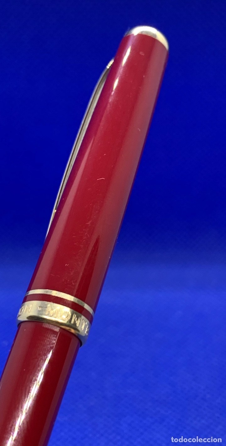 Escribanía: Lapiz Portaminas Pencil Montblanc Generation Rojo Para Revisar - Foto 5 - 219018011