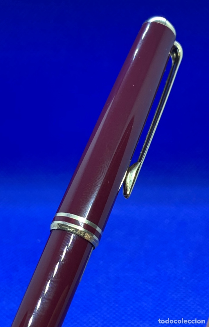 Escribanía: Lapiz Portaminas Pencil Montblanc Classic Bourdeaux Para Revisar - Foto 5 - 219018113
