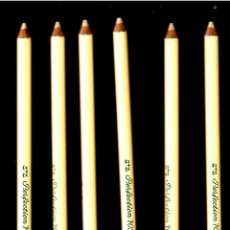 Escribanía: SEIS LAPICES GOMA FABER CASTELL - PERFECTION 7058. Lote 221704241
