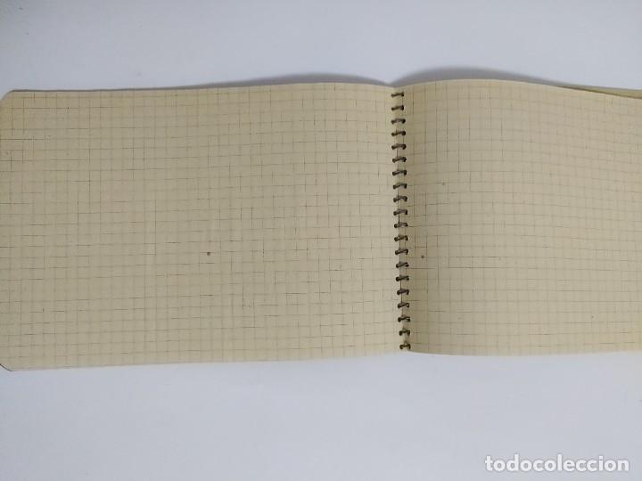 Escribanía: LOTE 8 CUADERNOS O LIBRETAS DIFERENTES, AÑOS 60, NUEVOS - Foto 26 - 223860226