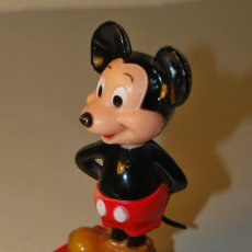 Escribanía: PRECIOSO SACAPUNTAS DOBLE DE MICKEY MOUSE - WALT DISNEY PRODUCTIONS. Lote 223945008