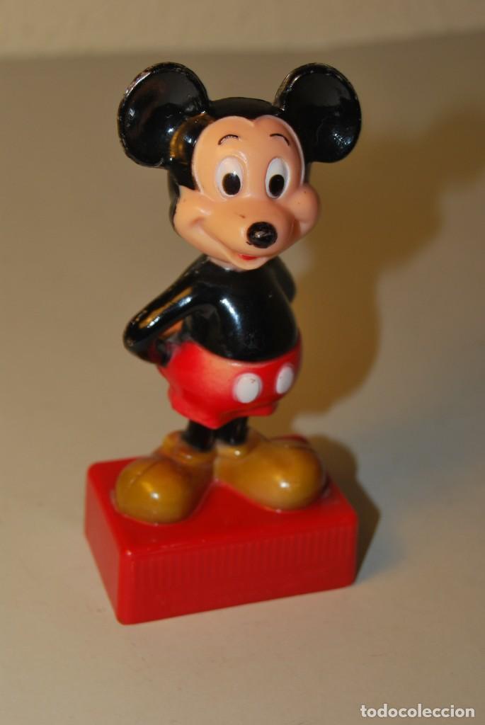 Escribanía: PRECIOSO SACAPUNTAS DOBLE DE MICKEY MOUSE - WALT DISNEY PRODUCTIONS - Foto 2 - 223945008