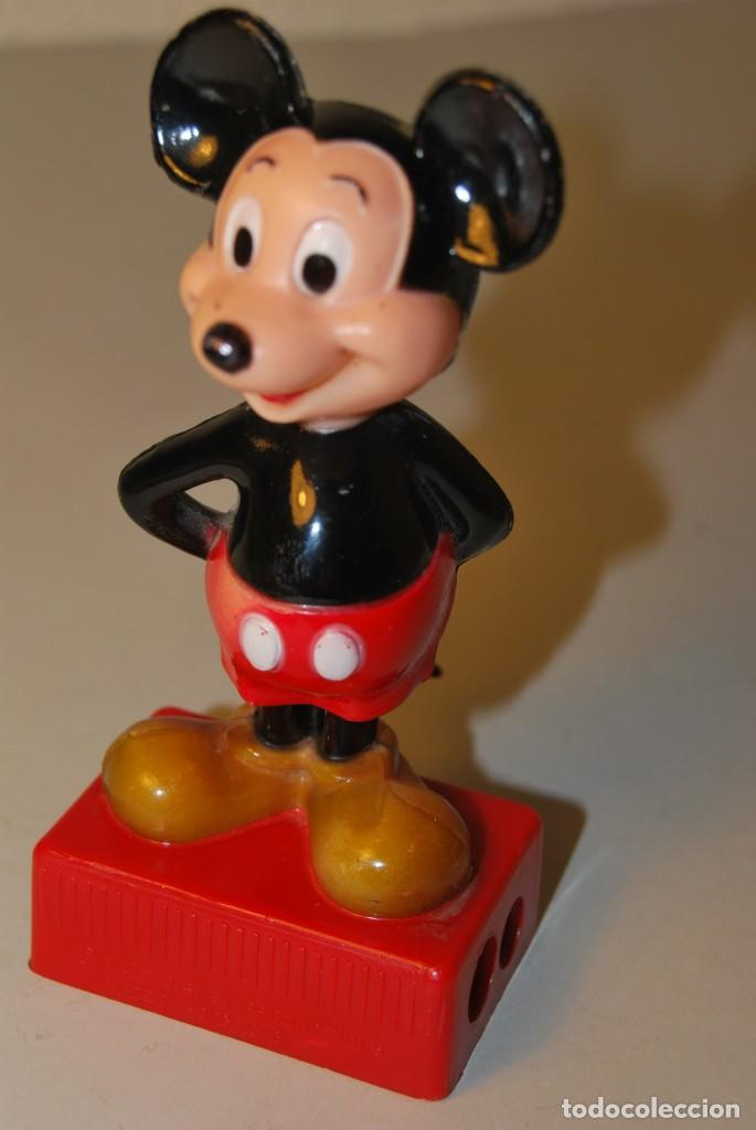 Escribanía: PRECIOSO SACAPUNTAS DOBLE DE MICKEY MOUSE - WALT DISNEY PRODUCTIONS - Foto 7 - 223945008