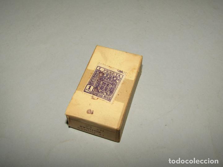 Escribanía: Antigua Caja a Estrenar 12 Plumillas Plumas Rotular Nº 1,50 de Productos ALBE Caja sin Desprecintar - Foto 3 - 224224793