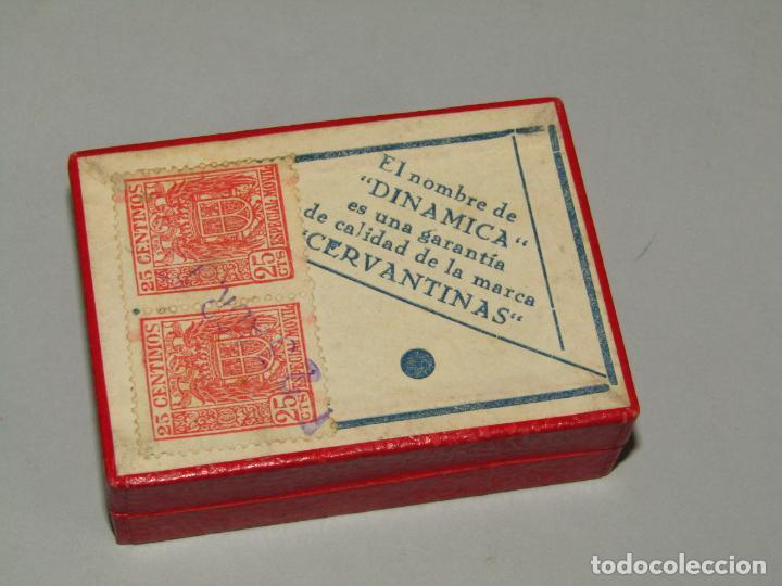 Escribanía: Antigua Caja a Estrenar 100 Plumillas Plumas CERVANTINAS Dinámica Especial Oficina Nº 1946 - Foto 3 - 224471791
