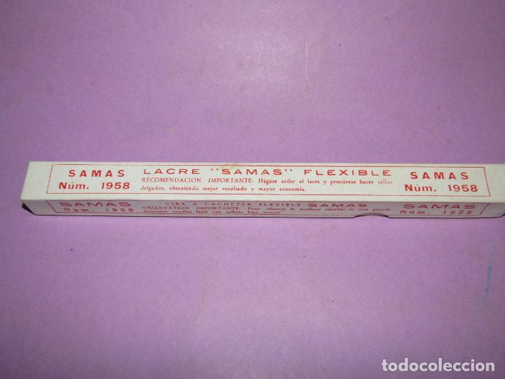 Escribanía: Antigua Caja a Estrenar con Lacre Flexible nº 1958 de SAMAS 21 cm. de largo - Foto 2 - 224718806