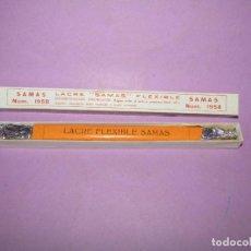 Escribanía: ANTIGUA CAJA A ESTRENAR CON LACRE FLEXIBLE Nº 1958 DE SAMAS 21 CM. DE LARGO. Lote 224718806