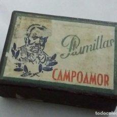 Escribanía: ANTIGUA CAJA DE PLUMILLAS CAMPOAMOR. VACÍA. Lote 224743266