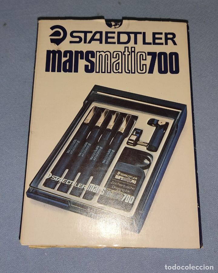 Escribanía: ANTIGUO ESTUCHE STAEDTLER MARSMATIC700 COMPLETO EN MUY BUEN ESTADO - Foto 6 - 228106390