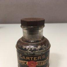 Escrita: TINTERO CARTERS USA 1900-1910. Lote 229000650