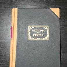 Escribanía: LIBRO REGISTRO DE VENTAS AÑOS 80 NUEVO SIN ESTRENAR. Lote 234761660