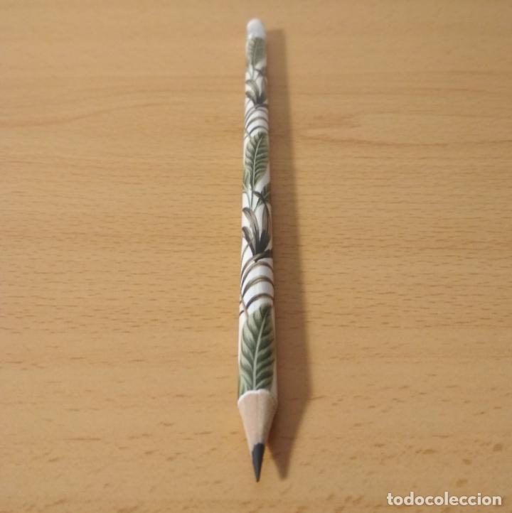 Escribanía: Lápiz con goma de borrar diseño estampado plantas, selva, jungla. Nuevo. - Foto 3 - 234894250