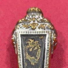 Escribanía: FANTÁSTICO SELLO DE LACRE, DE ÉPOCA NAPOLEON III. Lote 235466380